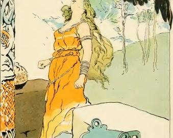 nordijska mitologija Kako je Odin doneo medovinu u Asgard