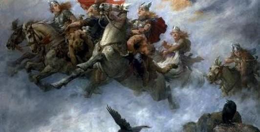 nordijska mitologija Nordijski panteon