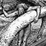 nordijska mitologija Tor i Himer pecaju
