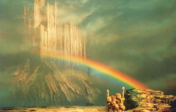 nordijska mitologija Bifrest