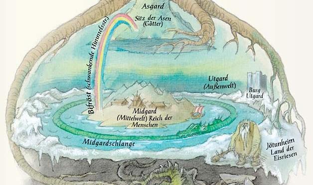 nordijska mitologija Midgard 2