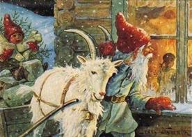nordijska mitologija Julebukk