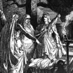nordijska mitologija Norne Johannes Gehrts