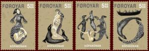 Selkie draugr Stamps