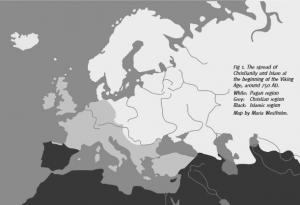 ekspanzija religija početkom vikinškog doba