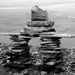 Nordijska mitologija Inukshuk