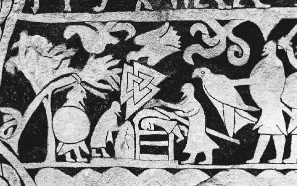Nordijska mitologija Odin i koplje