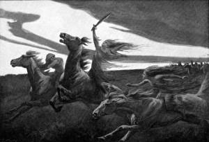 Nordijska mitologija valkirje